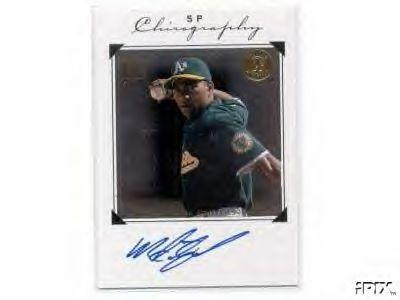 Miguel Tejada certified autograph Oakland A's SP Chirography card