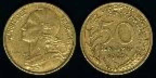 50 centimes; Year: 1962-1964; (km 939)