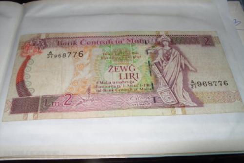 Malta 2 Lira-1967/94