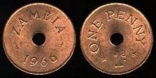 1 penny 1966 (km 5)