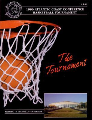 1990 ACC Basketball Tournament program (Georgia Tech)