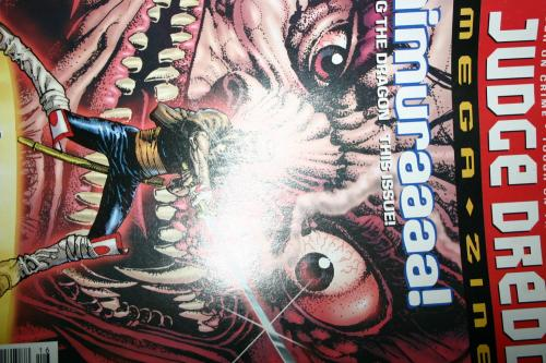 udge Dredd Megazine No. 16 1996
