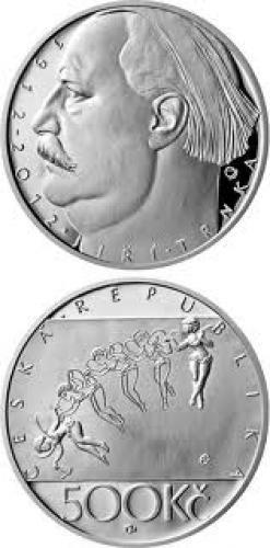 Coins; COIN SERIES - Silver 500 kronen coins