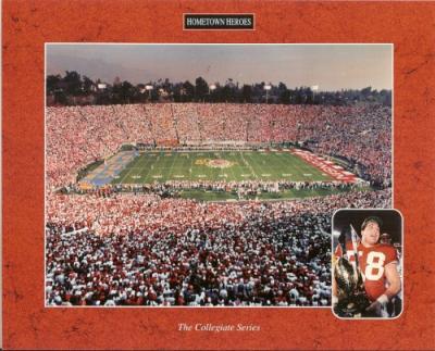 1994 Wisconsin Wins Rose Bowl 8x10 photo
