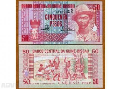 Guinea Bissau-50 Pesos