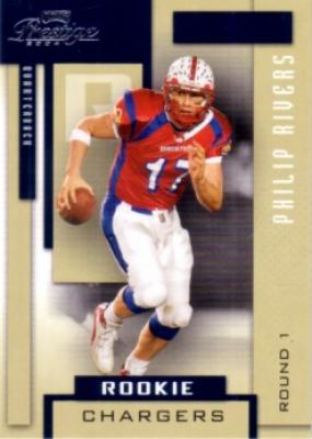 Philip Rivers 2004 Playoff Prestige Rookie Card