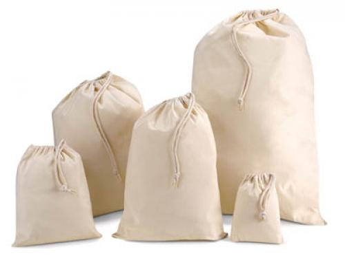 Muslin Bag/ Unbleached Cotton Muslin Bag/ Promotional Muslin Bag
