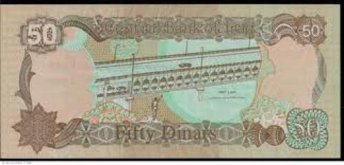 Banknotes;Iraq 50‑dinars Year: 1994