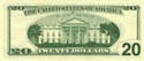 20 Dollars; Issue of 1996-1999; (enlarged portraits)