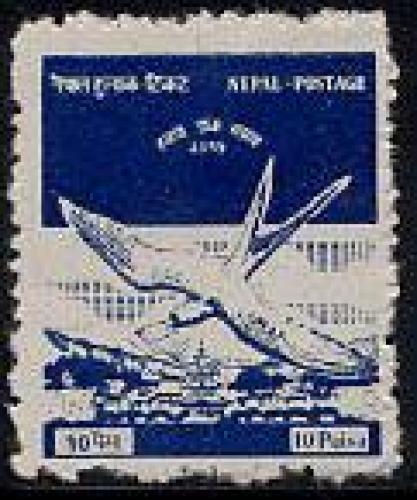Airmail 1v; Year: 1958