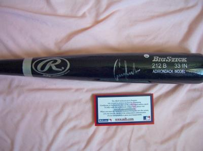 Conor Jackson autographed Rawlings game model bat