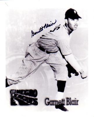 Garnett Blair autographed 8x10 photo