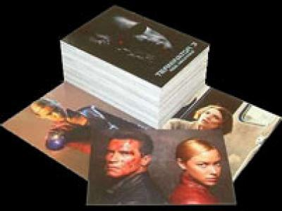 Terminator 3 Rise of the Machines 72-card Comic Images set