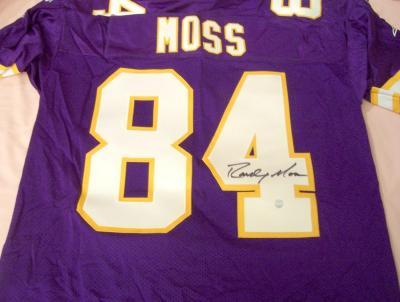 Randy Moss autographed Minnesota Vikings authentic jersey