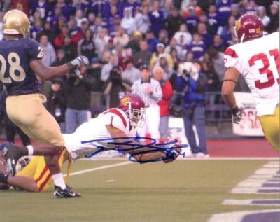 Patrick Turner autographed USC Trojans 8x10 photo