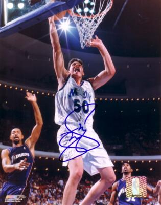 Mike Miller autographed Orlando Magic 8x10 photo