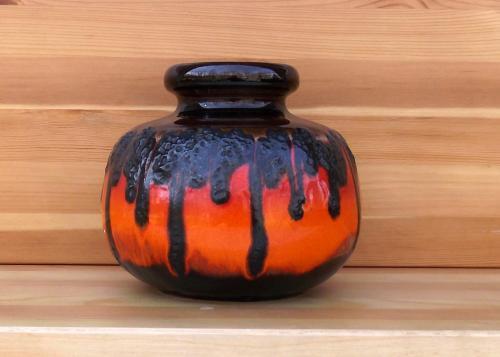 Scheurich fat lava vase