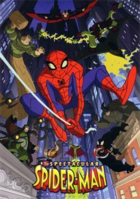 Spectacular Spider-Man animated series 5x7 promo postcard