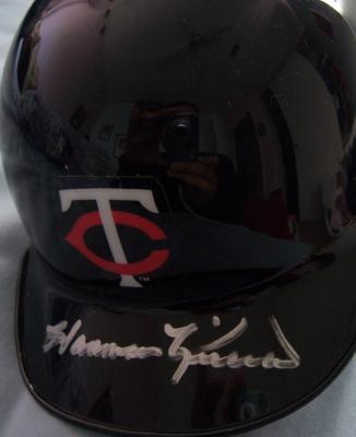 Harmon Killebrew autographed Minnesota Twins mini helmet