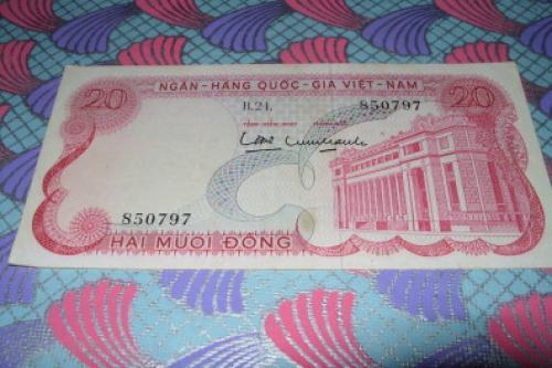 Viet Nam, South - 20 Dong
