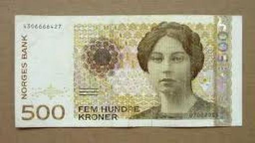 Banknotes; 500 Norwegian Kroner Banknote