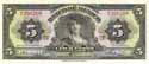 5 Pesos; Older banknotes of Mexico