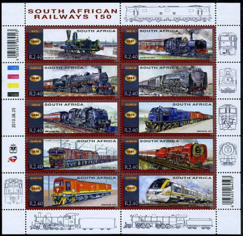 150 Years Railways 10v m/s