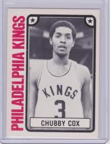 Basketball Card; Greatest Basketball Card Ever. Chubby Cox