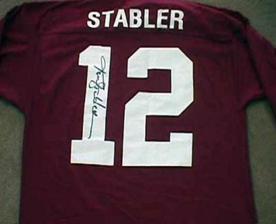 Ken Stabler autographed Alabama jersey