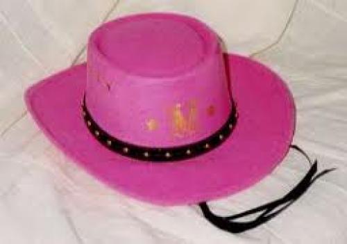 Madonna Memorabilia; Madonna Pink Cowboy Hat
