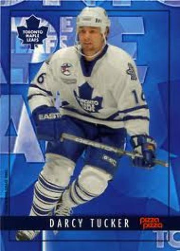 Toronto Maple Leafs 2000-01 hockey card; Darcy Tucker #16