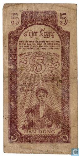 Viet Nam 10 dong 1947