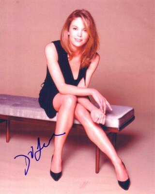 Diane Lane autographed sexy 8x10 photo