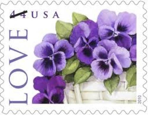 "Stamps; Just in time for Mother's Day, the U.S. Postal Service has issued this year's ""Love"" stamp;"