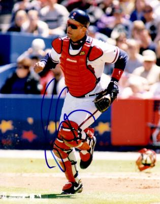 Javy Lopez autographed Atlanta Braves 8x10 photo