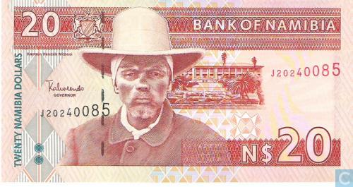 Namibia 20 Dollars