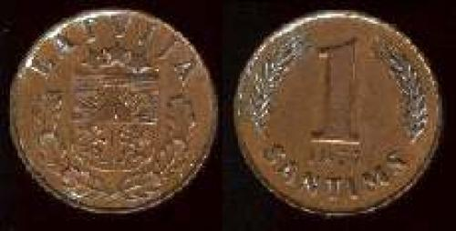 1 santimi 1937-1939 (km 10)