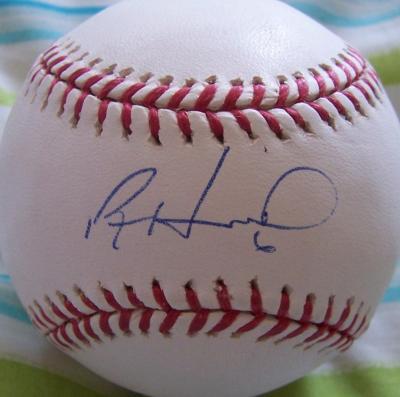 Ryan Howard autographed MLB baseball