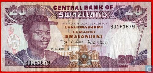 Swaziland Emalangeni 20