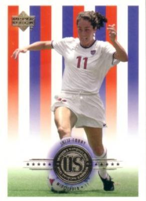 Julie Foudy 2000 Upper Deck US Women's National Team soccer card