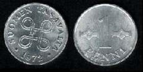 1 penni 1969-1979 (km 44a); Aluminun