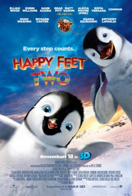 Happy Feet 2 mini movie poster