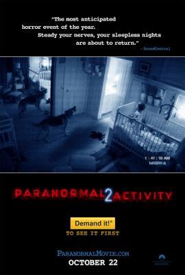 Paranormal Activity 2 mini movie poster