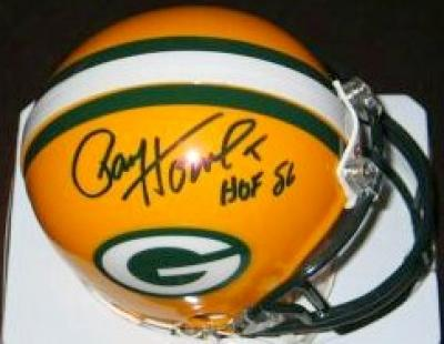 Paul Hornung autographed Green Bay Packers mini helmet