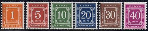 Postage due 6v; Year: 1967