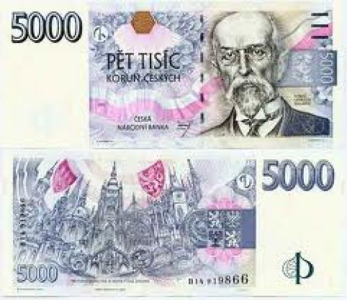 Banknotes; Banknote 5000 CZK