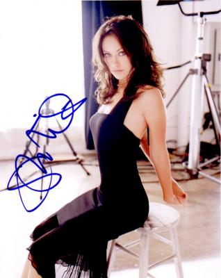 Coollectors Collectible Item Autographs Olivia Wilde
