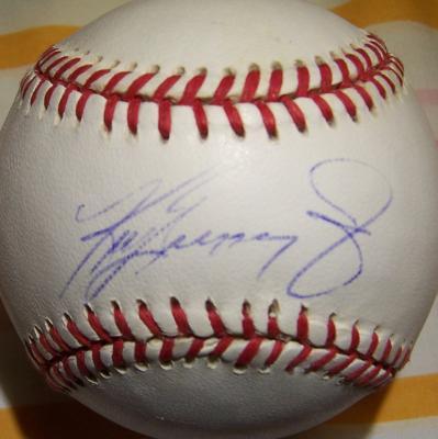 Ken Griffey Jr. autographed AL baseball