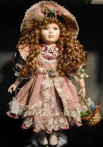 Dolls; beautiful European bisque doll