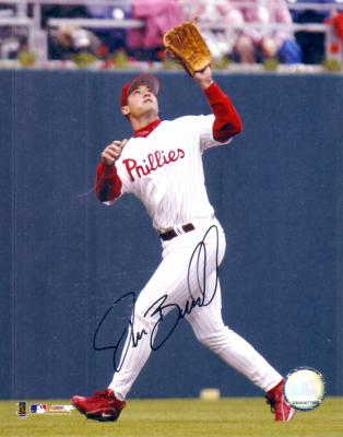 Pat Burrell autographed 8x10 Philadelphia Phillies photo